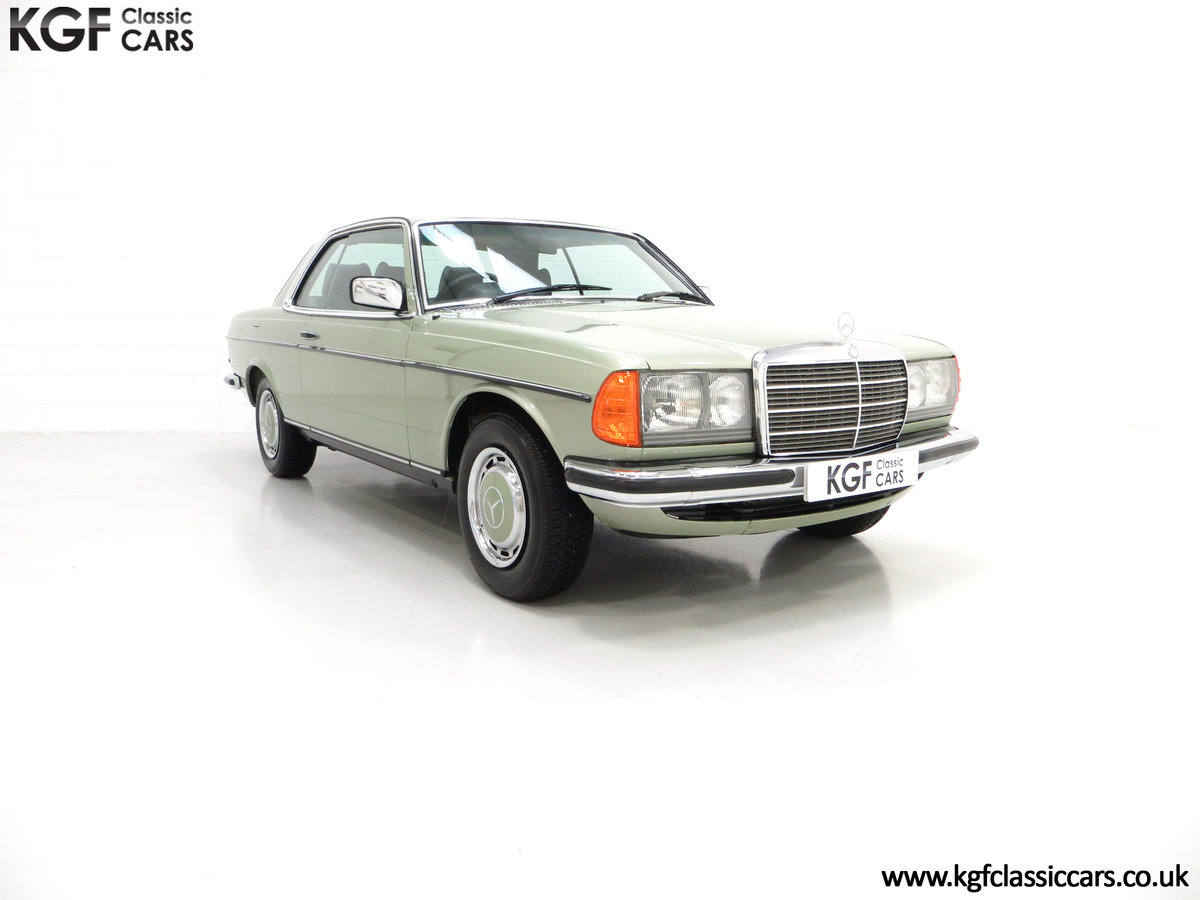 1977 A Classic C123 Mercedes-Benz 280CE with Just 26,902 Miles  SOLD (picture 1 of 6)