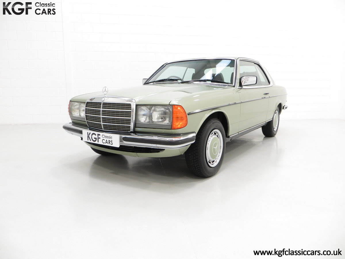 1977 A Classic C123 Mercedes-Benz 280CE with Just 26,902 Miles  SOLD (picture 2 of 6)