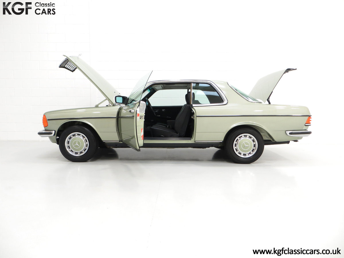 1977 A Classic C123 Mercedes-Benz 280CE with Just 26,902 Miles  SOLD (picture 3 of 6)