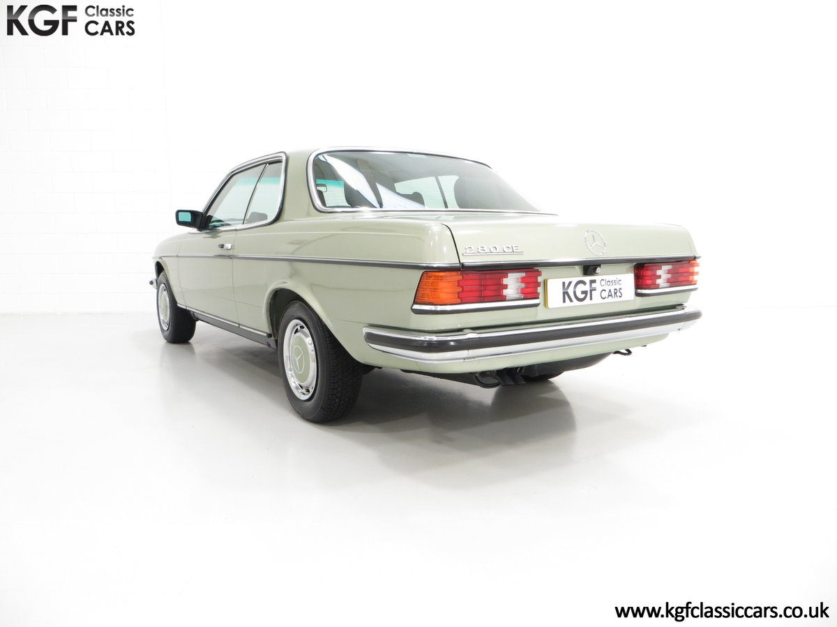 1977 A Classic C123 Mercedes-Benz 280CE with Just 26,902 Miles  SOLD (picture 4 of 6)