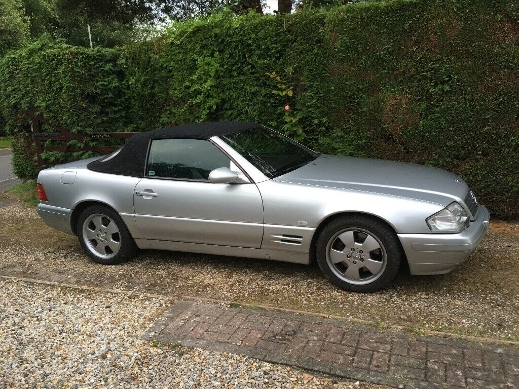 1999 Mercedes SL 320 v6 R129 Sports Convertible. For Sale (picture 1 of 6)