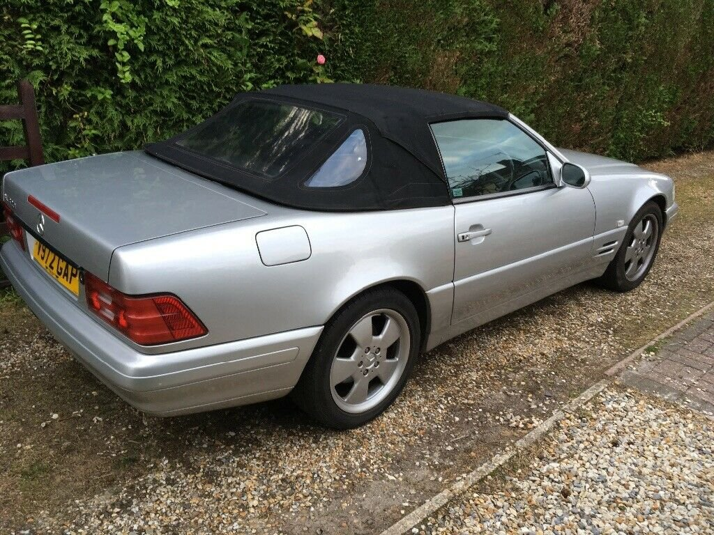 1999 Mercedes SL 320 v6 R129 Sports Convertible. For Sale (picture 4 of 6)