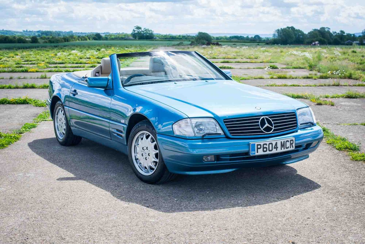 1997 Mercedes-Benz R129 SL500 - 78K Miles - FSH - Panoramic Roof SOLD (picture 1 of 6)