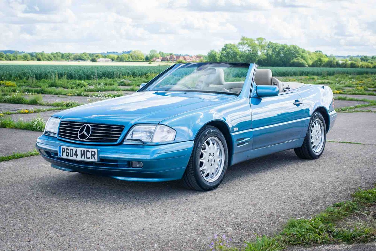 1997 Mercedes-Benz R129 SL500 - 78K Miles - FSH - Panoramic Roof SOLD (picture 2 of 6)