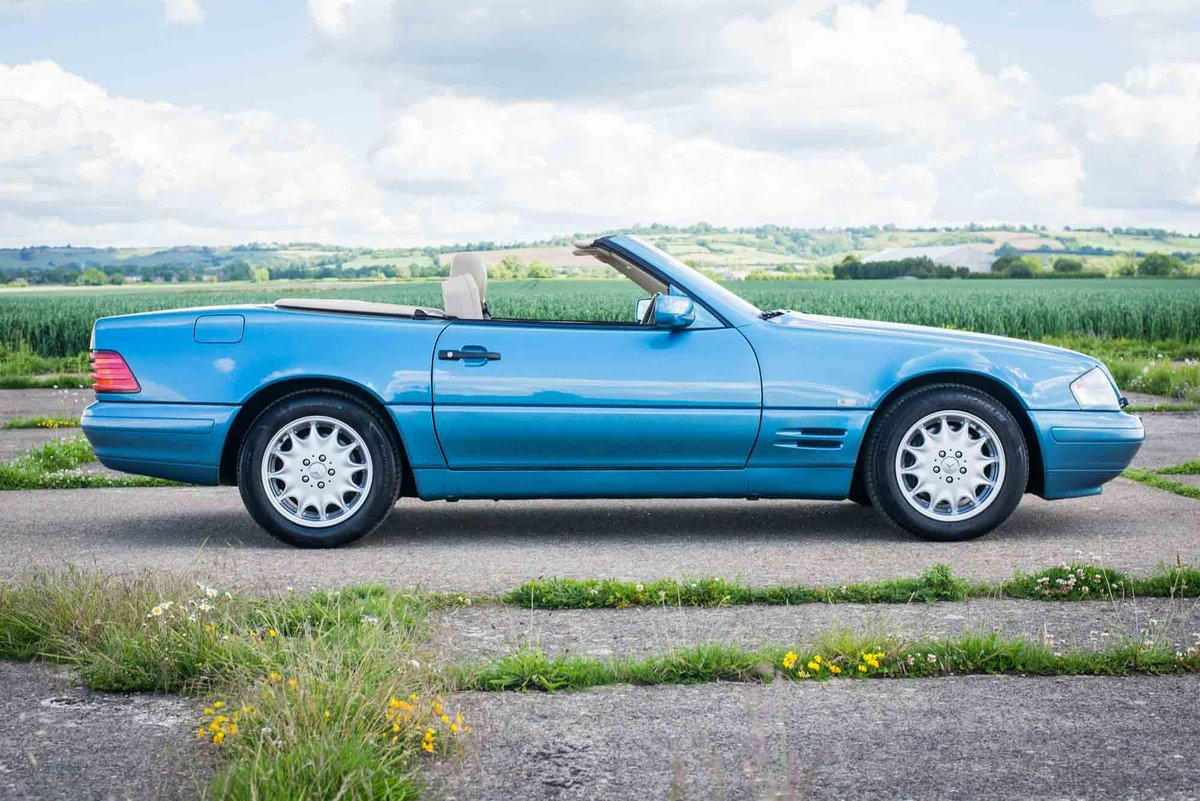 1997 Mercedes-Benz R129 SL500 - 78K Miles - FSH - Panoramic Roof SOLD (picture 3 of 6)