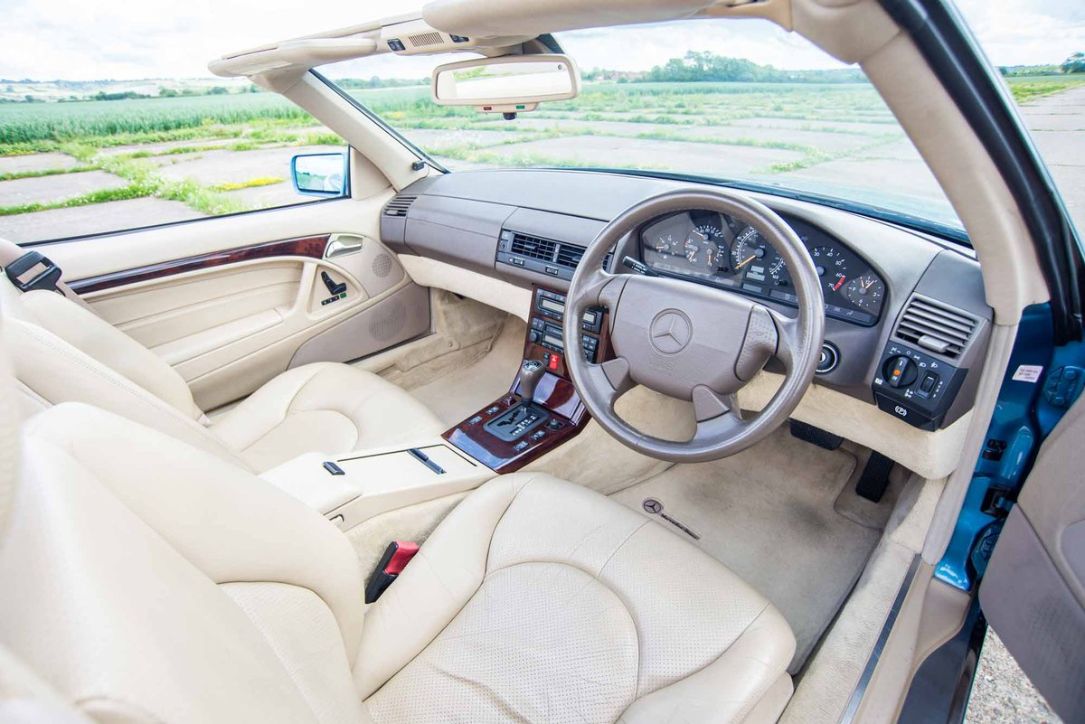 1997 Mercedes-Benz R129 SL500 - 78K Miles - FSH - Panoramic Roof SOLD (picture 4 of 6)