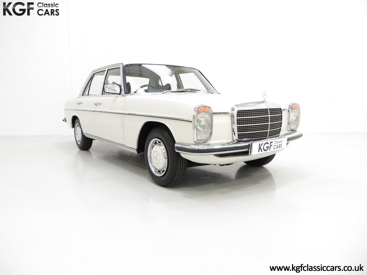 1975 A Preserved W115 Mercedes-Benz 200 with Just 19,986 Miles SOLD (picture 1 of 6)