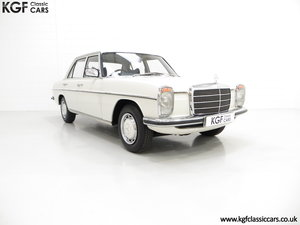 1975 A Preserved W115 Mercedes-Benz 200 with Just 19,986 Miles SOLD