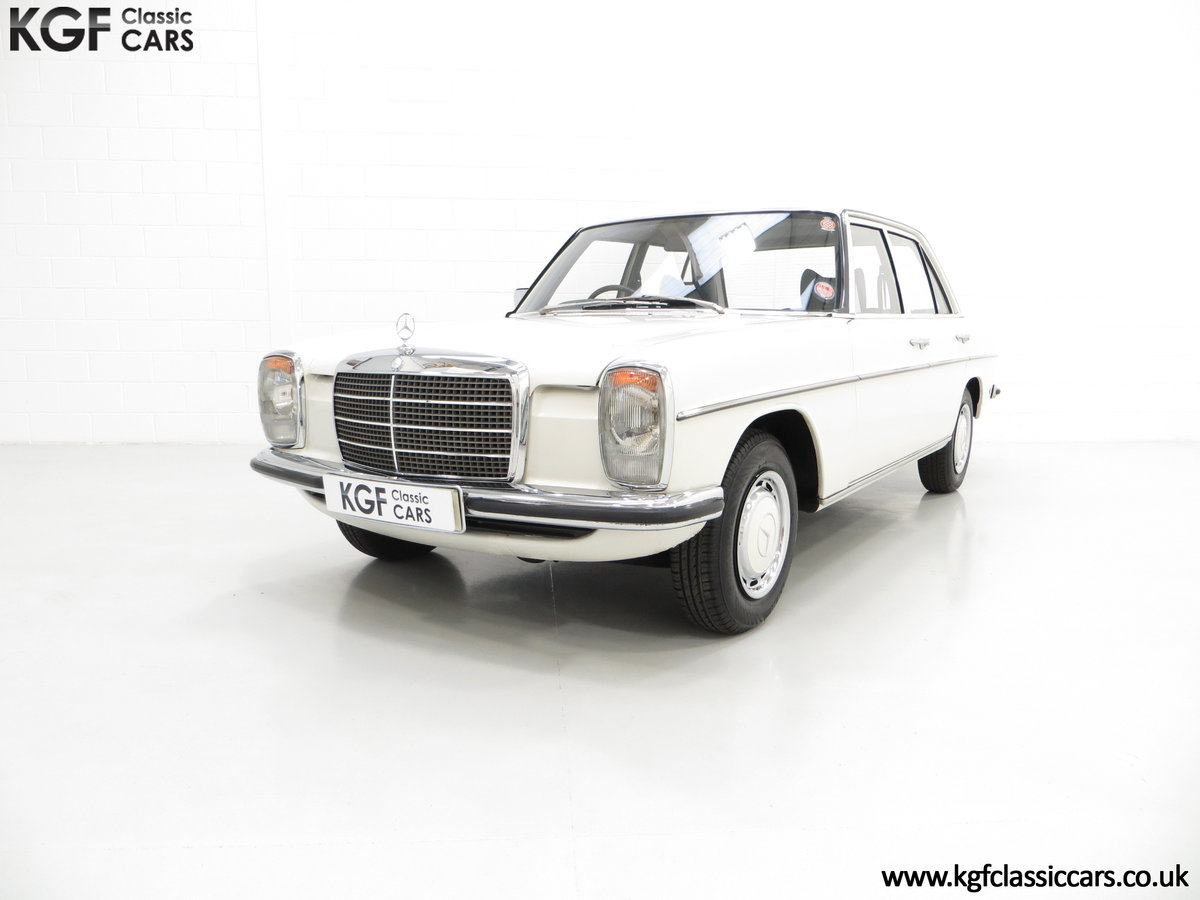 1975 A Preserved W115 Mercedes-Benz 200 with Just 19,986 Miles SOLD (picture 2 of 6)