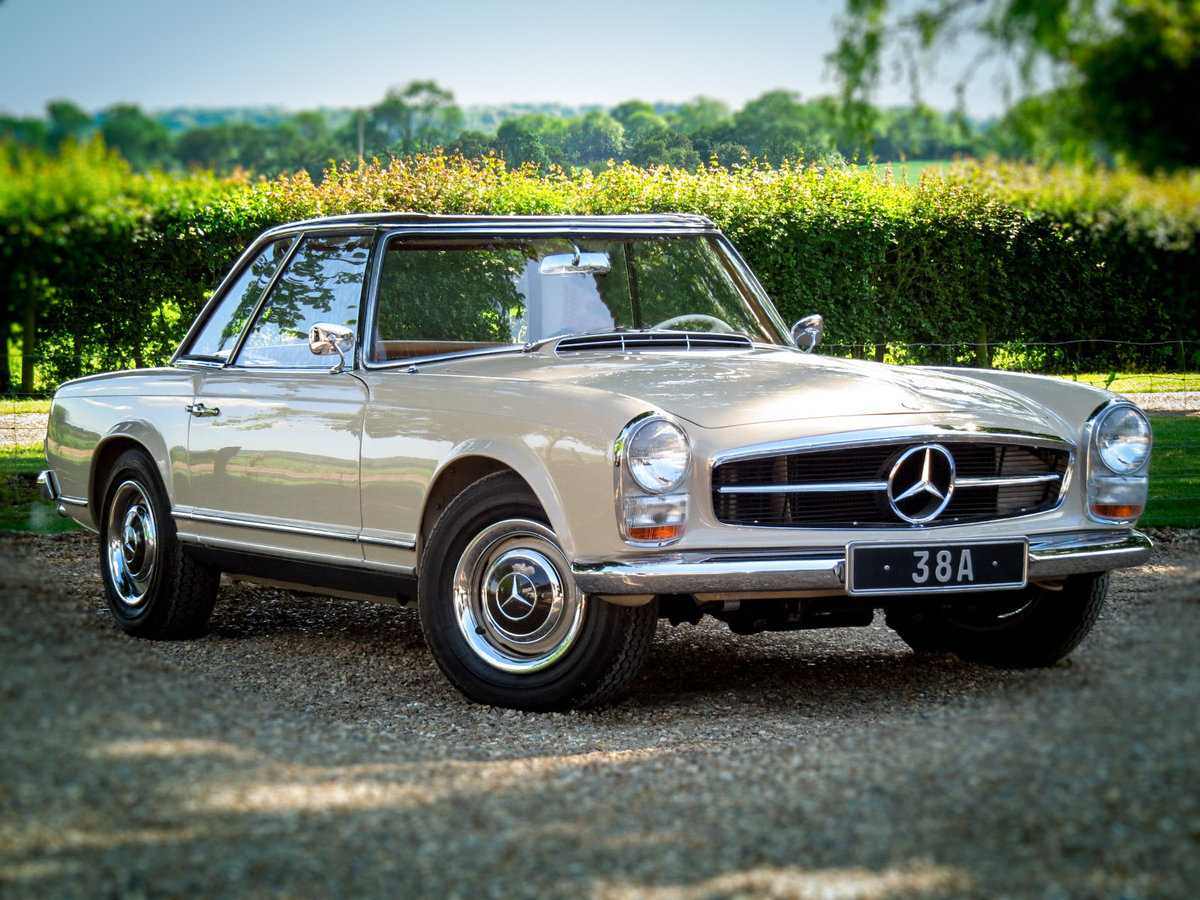 1965 230 SL PAGODA Automatic Petrol (FULLY SPIT RESORED) For Sale (picture 1 of 6)
