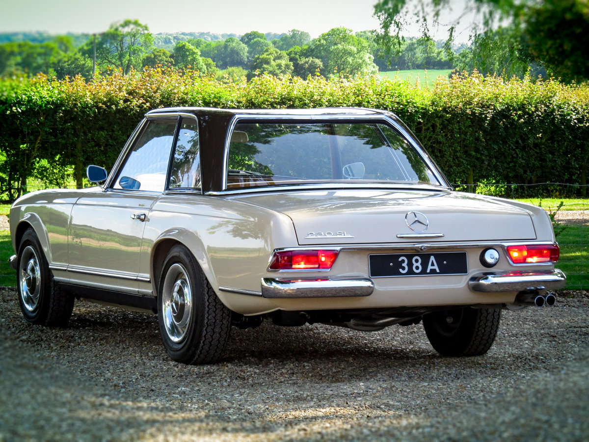 1965 230 SL PAGODA Automatic Petrol (FULLY SPIT RESORED) For Sale (picture 2 of 6)