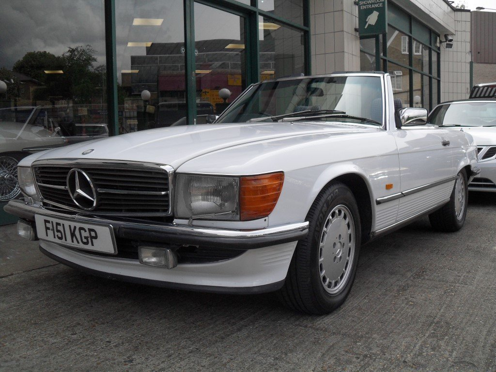 1988 Mercedes Benz 300SL For Sale (picture 1 of 6)