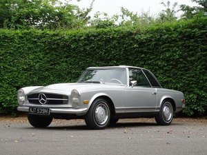 1970 Mercedes-Benz 280 SL For Sale by Auction