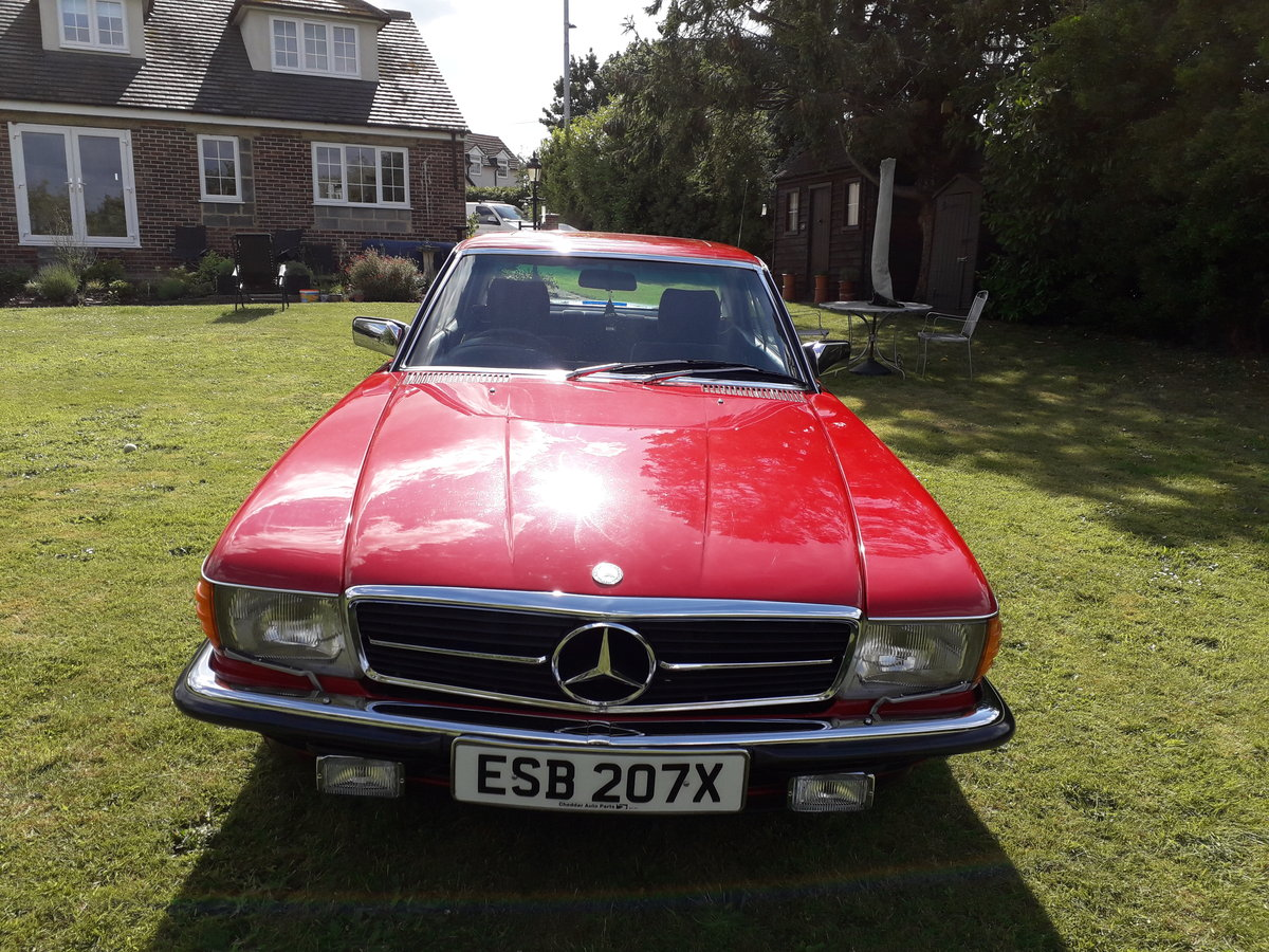 Mercedes 280 SLC 1981 For Sale (picture 1 of 5)