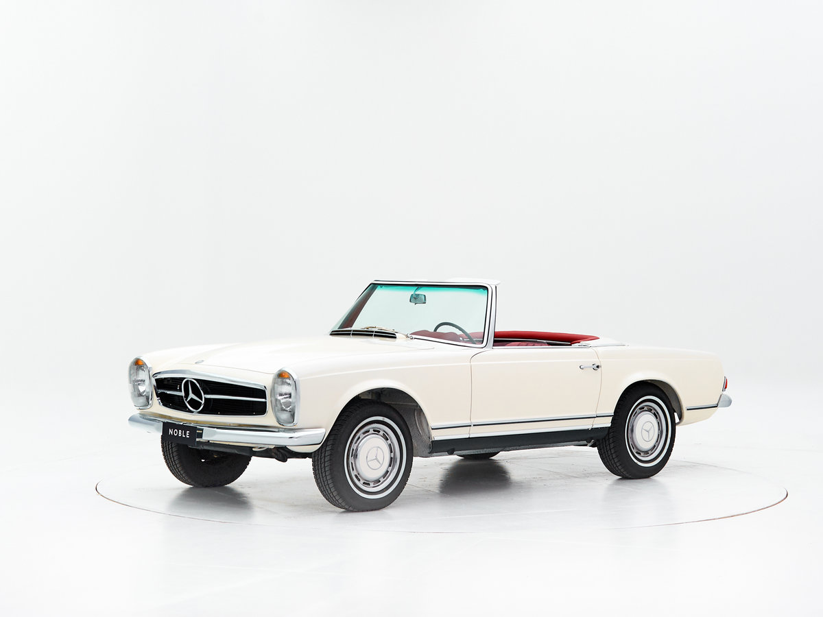 1966 MERCEDES 230SL PAGODE ZF 5-SPEED For Sale by Auction (picture 1 of 6)