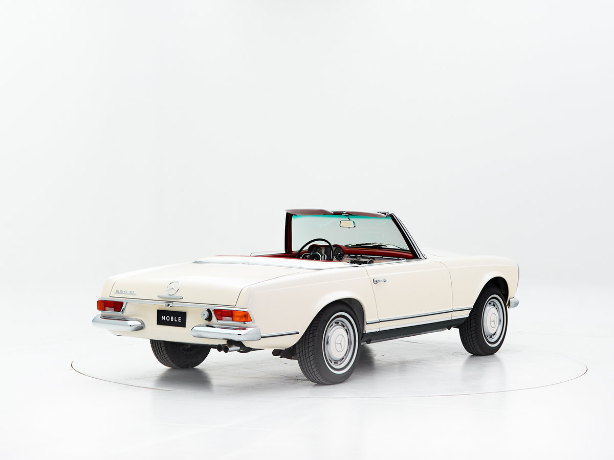 1966 MERCEDES 230SL PAGODE ZF 5-SPEED For Sale by Auction (picture 2 of 6)