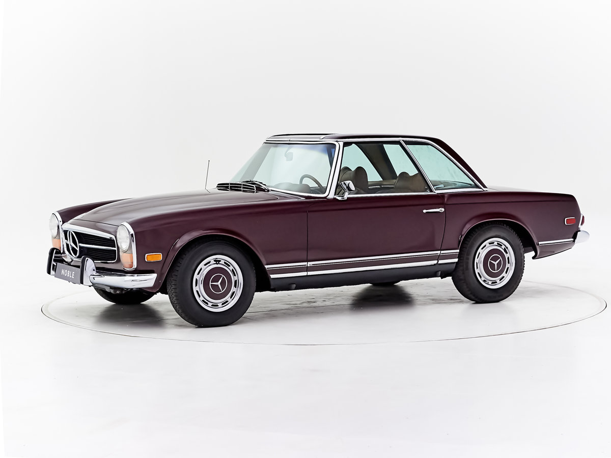 1969 MERCEDES 280SL PAGODE 360 MODENA MANUAL For Sale by Auction (picture 1 of 6)