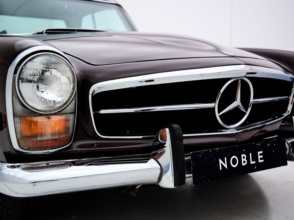 1969 MERCEDES 280SL PAGODE 360 MODENA MANUAL For Sale by Auction (picture 3 of 6)