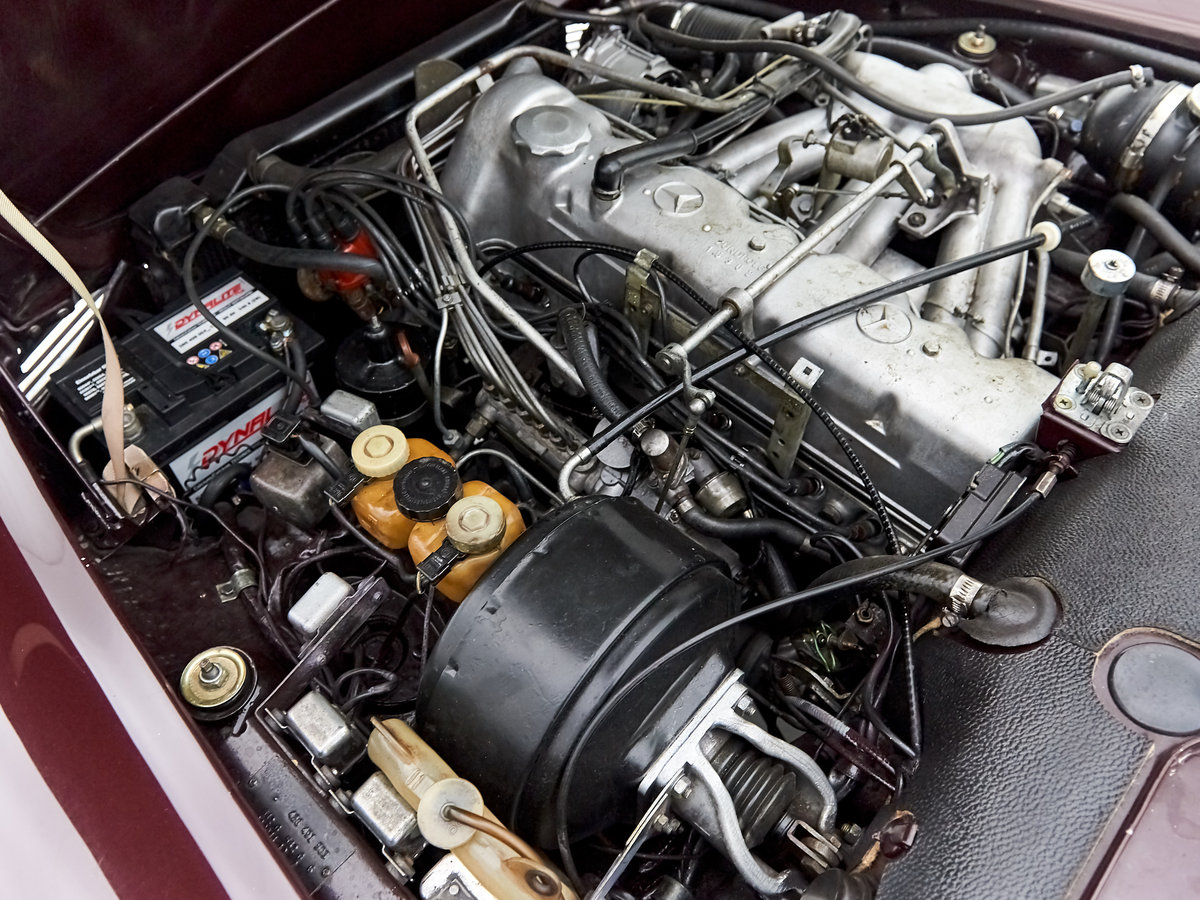 1969 MERCEDES 280SL PAGODE 360 MODENA MANUAL For Sale by Auction (picture 6 of 6)