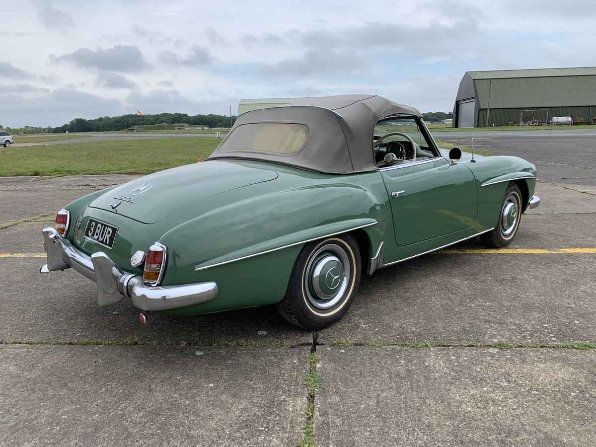1957 Mercedes 190 SL For Sale (picture 4 of 6)