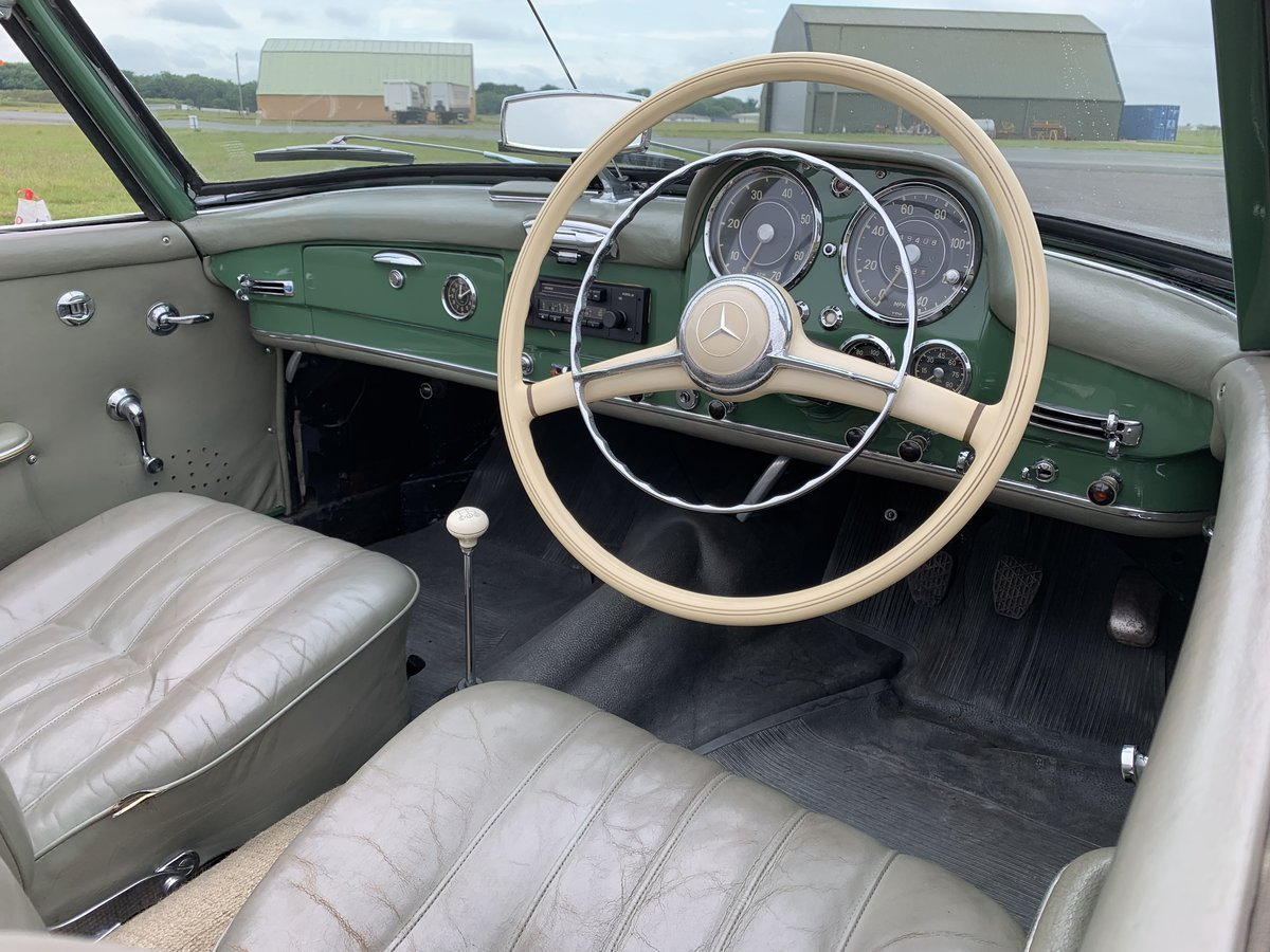 1957 Mercedes 190 SL For Sale (picture 5 of 6)