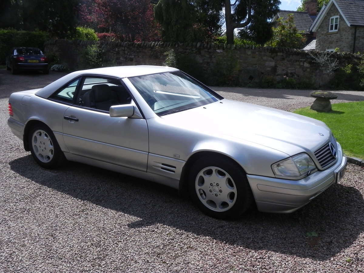 1997 Mercedes 320 SL. 1 owner since 2005. FSH. For Sale (picture 1 of 6)