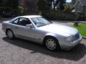 1997 Mercedes 320 SL. 1 owner since 2005. FSH.