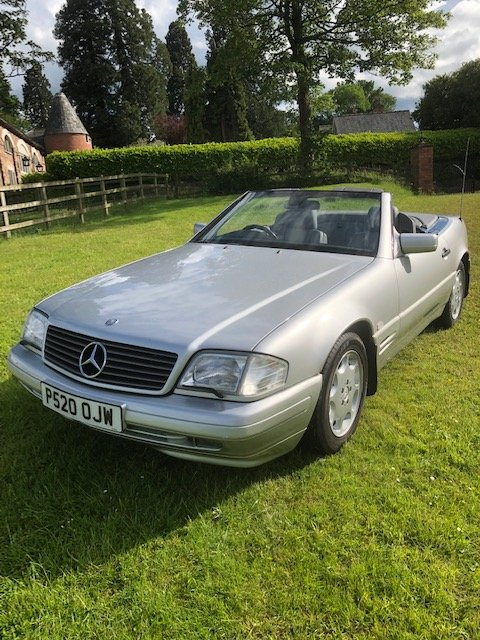 1997 Mercedes 320 SL. 1 owner since 2005. FSH. For Sale (picture 4 of 6)