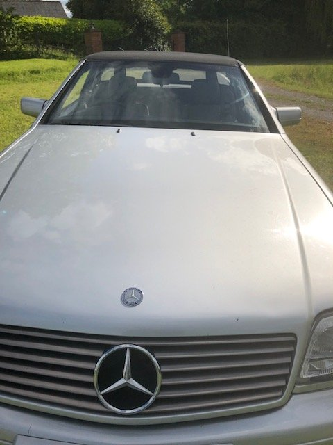 1997 Mercedes 320 SL. 1 owner since 2005. FSH. For Sale (picture 6 of 6)