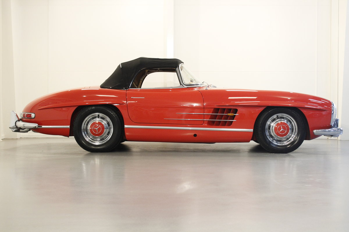 1957 Mercedes 300 SL Convertible For Sale (picture 3 of 6)