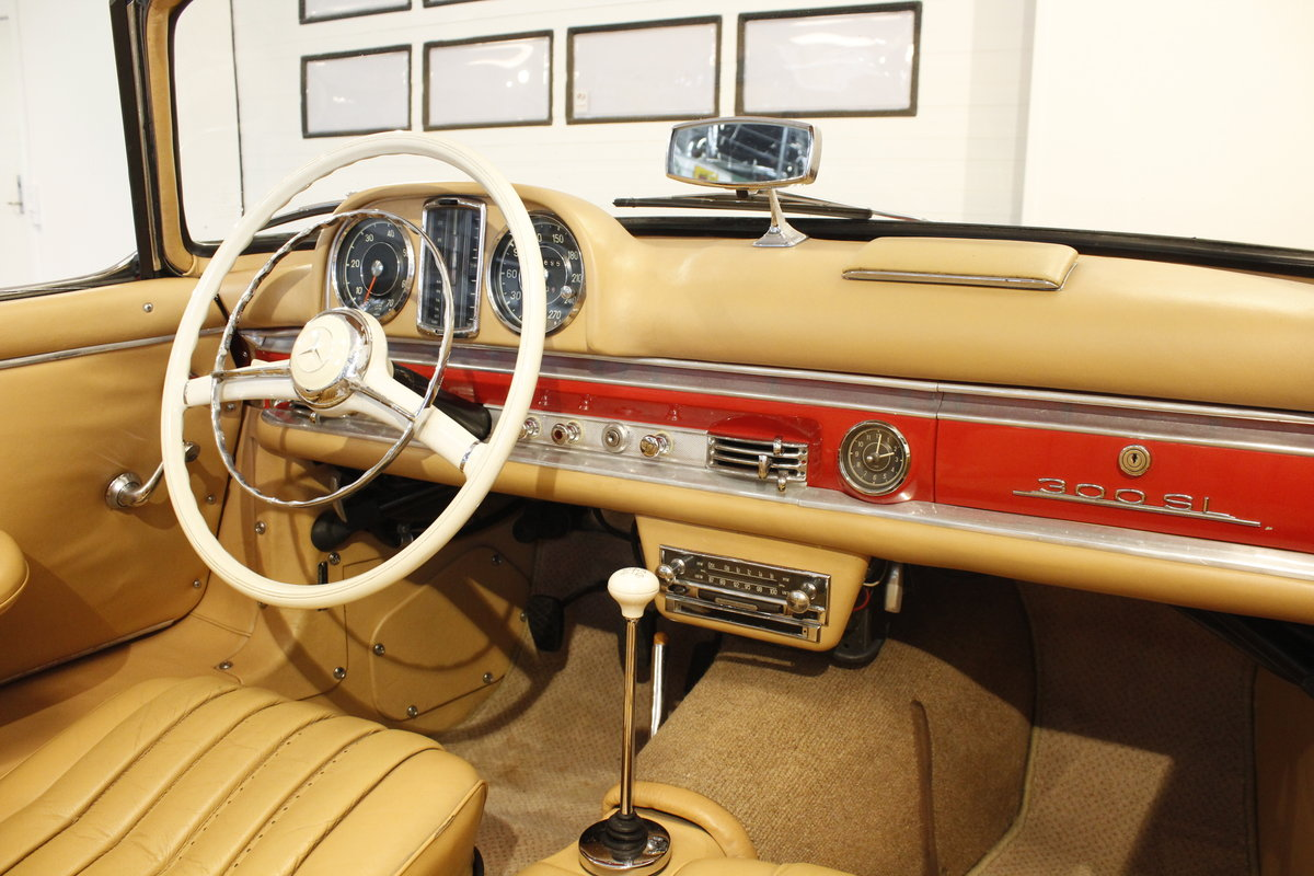 1957 Mercedes 300 SL Convertible For Sale (picture 5 of 6)