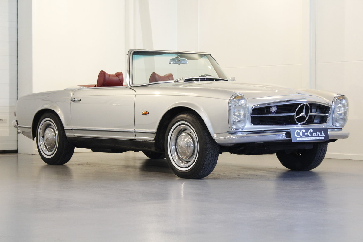 1966 Mercedes 230 SL Pagoda - Manual gear For Sale (picture 1 of 6)