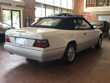 1995 Mercedes E320 Cabriolet = Ivory(~)Navy 39k miles $24.9k For Sale (picture 2 of 6)