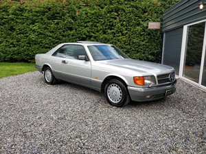 Beautiful, U.K. registered, 1988 Mercedes 500SEC For Sale