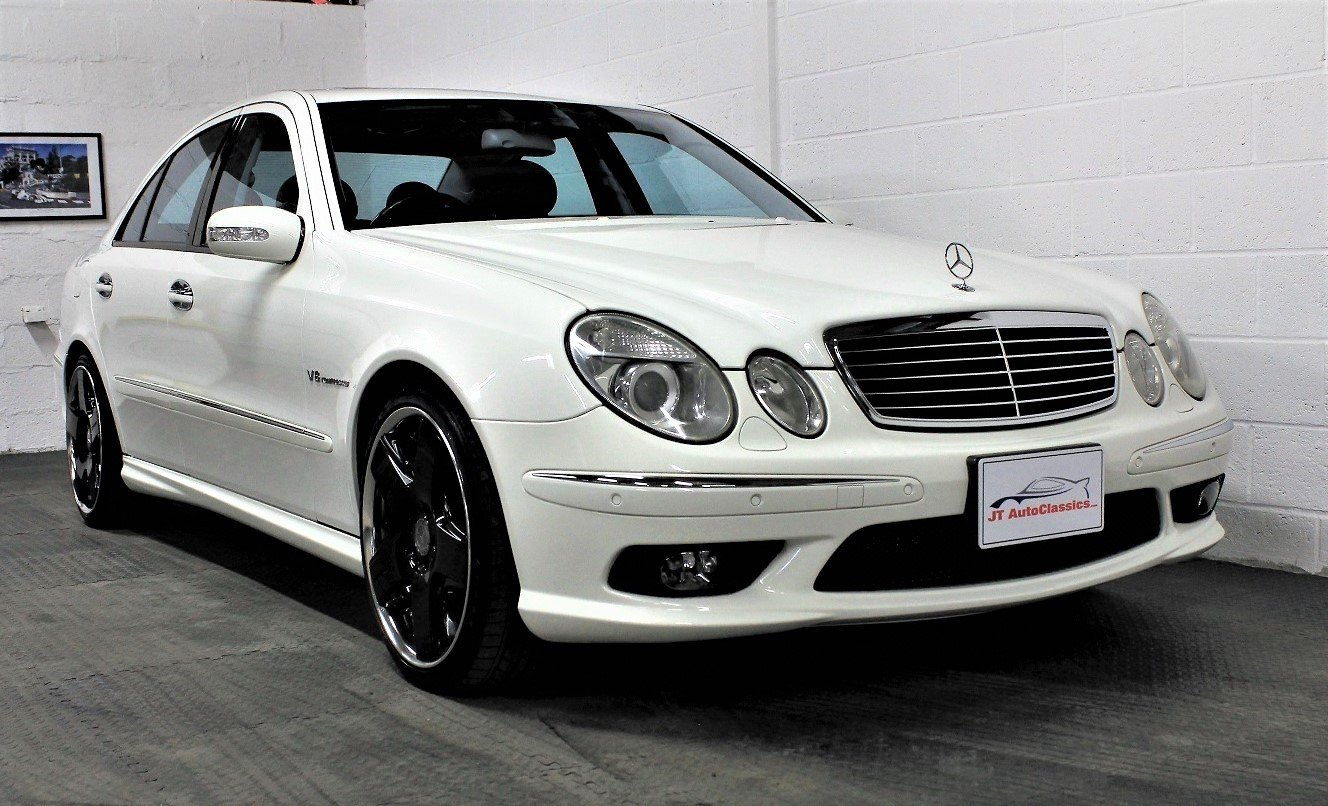 2005 Mercedes-Benz W211 E55 AMG,24,887 miles For Sale (picture 1 of 6)