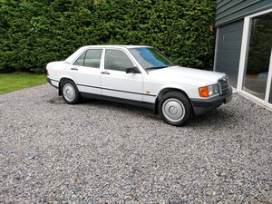 1988 UK registered, Low Mileage, Mercedes 190E 2.0 SOLD