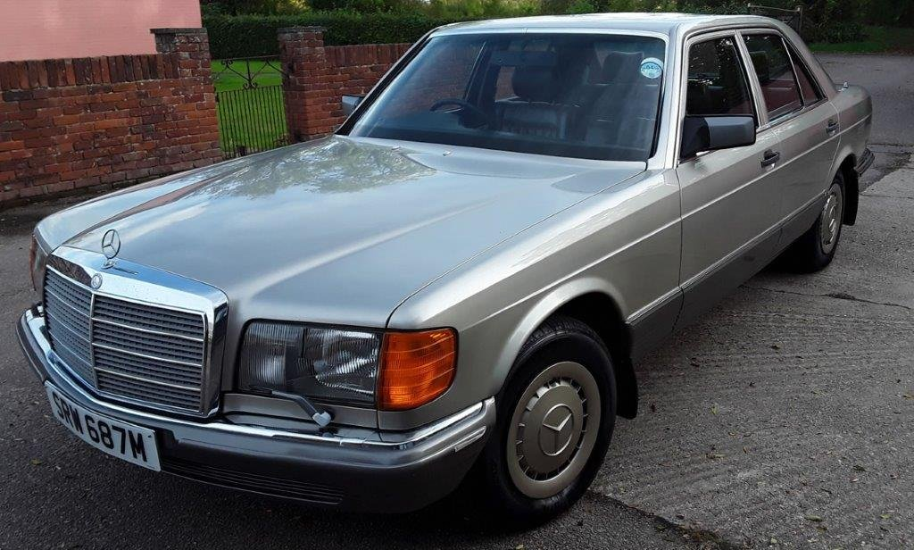 4000 1985 Mercedes W126 280SE Auto at ACA 15th June  SOLD (picture 1 of 6)