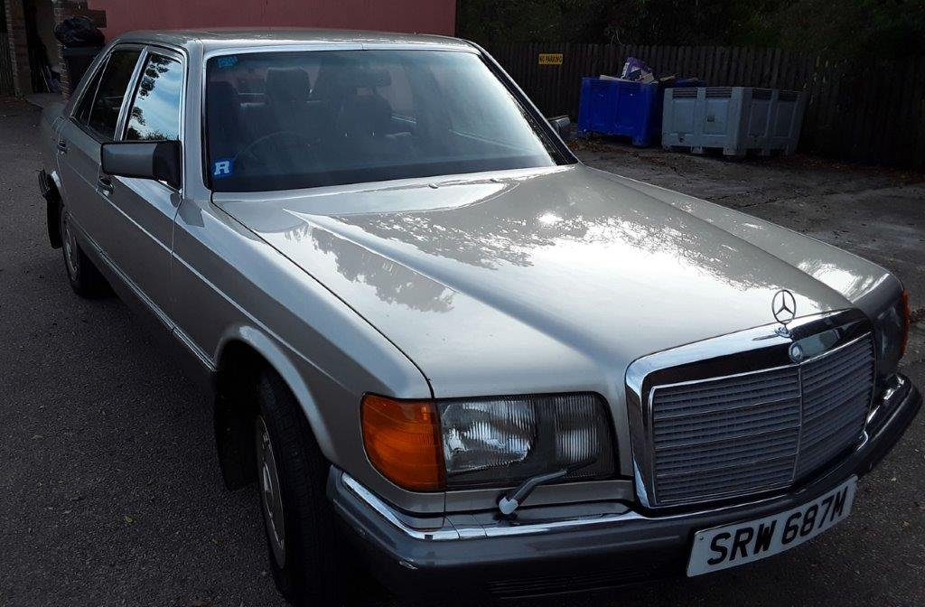 4000 1985 Mercedes W126 280SE Auto at ACA 15th June  SOLD (picture 2 of 6)