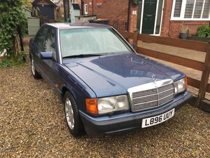 1993 Mercedes 190E 2.6 Manual For Sale