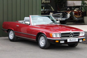 1984 Mercedes-Benz 380SL (R107) #2077 Left Hand Drive For Sale