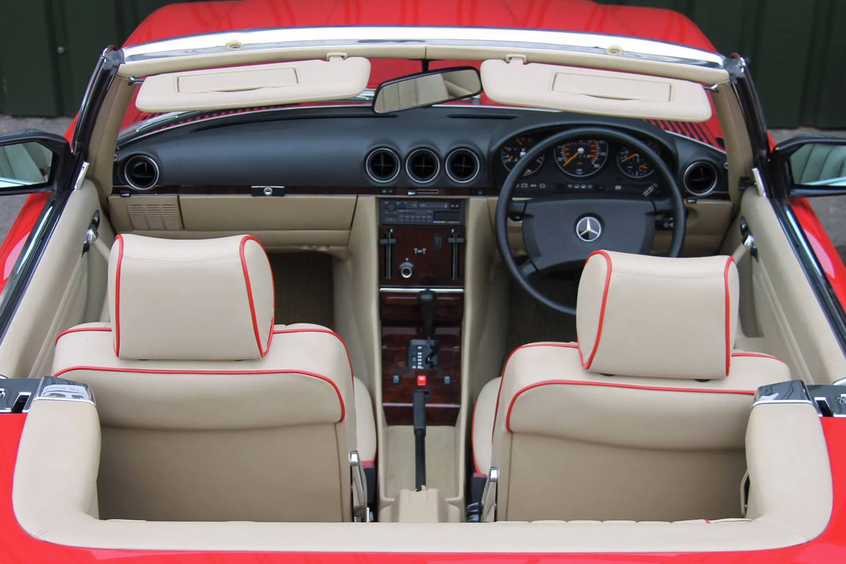 1989 Mercedes-Benz 420SL (R107) #2105 Just 1400 Miles! For Sale (picture 3 of 6)