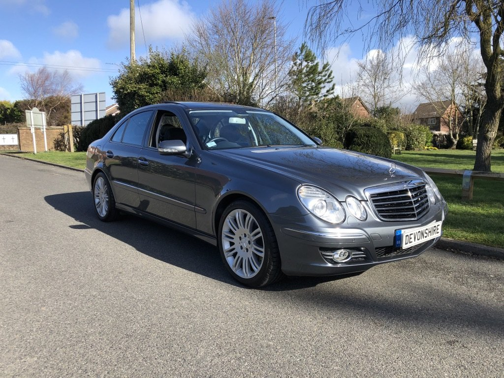 2006 Mercedes Benz E350 V6 Petrol Only 27000 Miles Very Rare For Sale (picture 1 of 6)