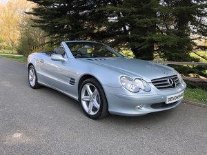 2003 Mercedes Benz SL500 V8 Convertible Only 31000 Miles One Lady SOLD