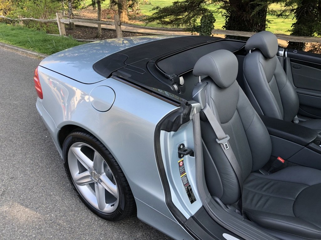 2003 Mercedes Benz SL500 V8 Convertible Only 31000 Miles One Lady For Sale (picture 4 of 6)