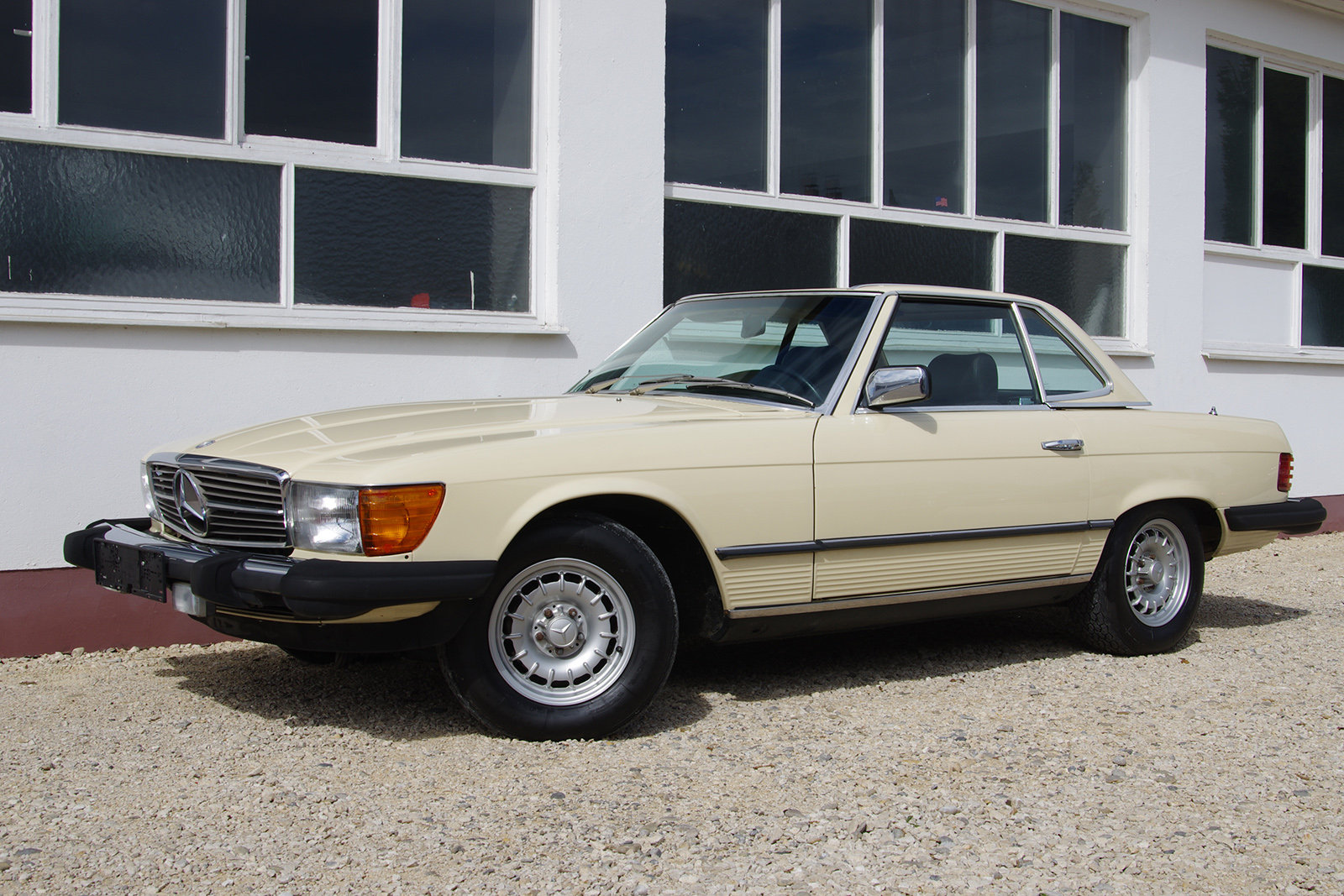 1982 Mercedes-Benz 380 SL - R 107 - partially restored SOLD (picture 1 of 6)