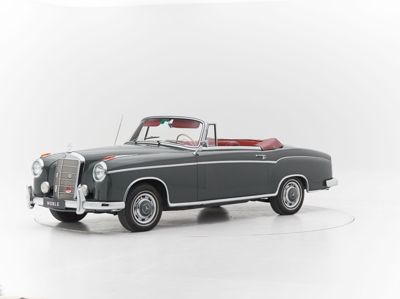 1959 MERCEDES 220S PONTON CABRIOLET for sale For Sale by Auction (picture 1 of 6)