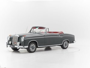 1959 MERCEDES 220S PONTON CABRIOLET for sale For Sale by Auction
