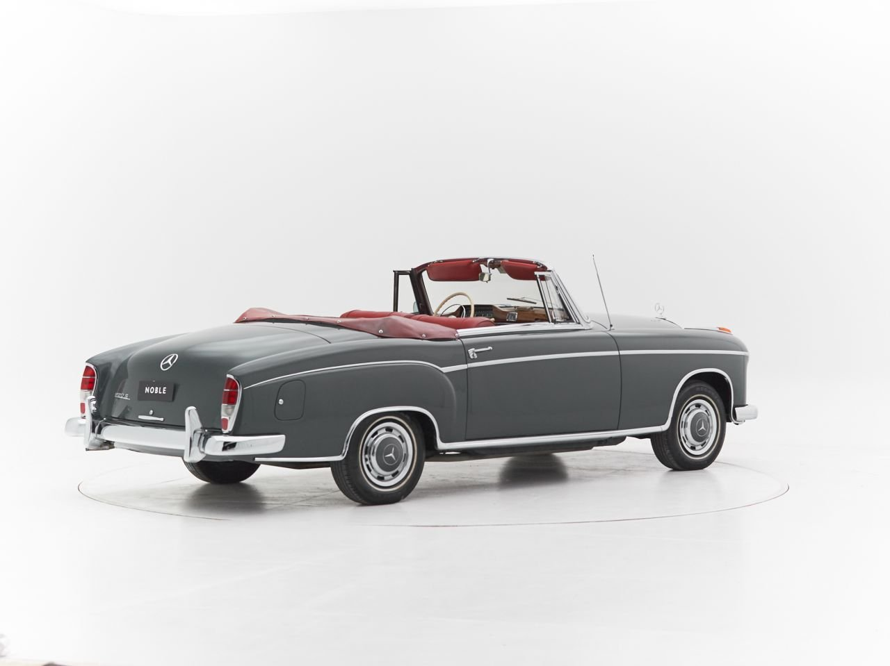 1959 MERCEDES 220S PONTON CABRIOLET for sale For Sale by Auction (picture 2 of 6)
