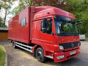 2005 Mercedes Transporter with living Accommodation For Sale