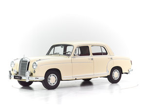 1958 MERCEDES PONTON 220S For Sale by Auction